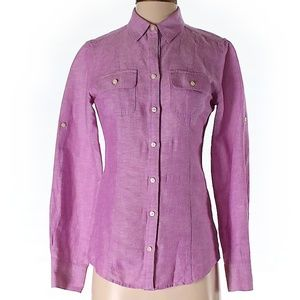 Banana Republic Long Sleeve Blouse Size 2